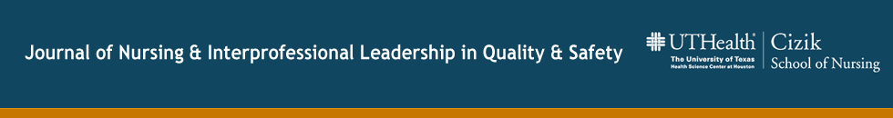 Journal of Nursing & Interprofessional Leadership in Quality & Safety