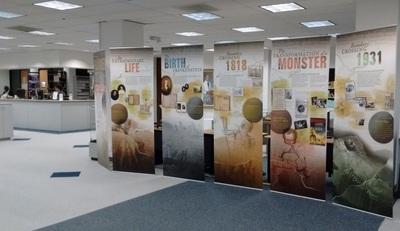 NLM Traveling Exhibit Hallowe'en 2016