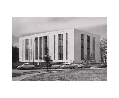 The Library in 1954