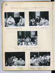 "Moloney Journal,  Page 73 (Photographs: ""Bob ange's farewell party at the Lupin Hiroshima August 5, 1953"")"